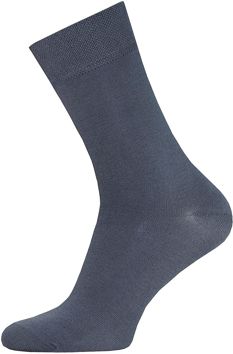 Носки мужские Брестские Classic, цвет: темно-серый. 14С2122-Д38/000. Размер 3114С2122-Д38/000Мужские гладкие носки Брестские Classic изготовлены из хлопка с добавлением полиэстера и эластана. На модели предусмотрен двойной борт. Носки хорошо держат форму и обладают повышенной воздухопроницаемостью, имеют усиленные пятку и мысок для повышенной износостойкости.