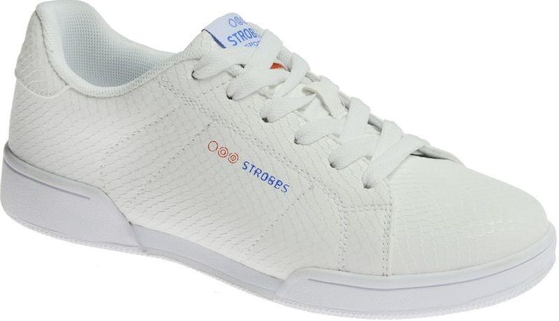 Кроссовки женские Strobbs, цвет: белый. F6501-6. Размер 36F6501-6Стильные женские кроссовки Strobbs отлично подойдут для повседневной носки. Верх модели выполнен из искусственной кожи. Удобная шнуровка надежно фиксирует модель на стопе. Подошва обеспечивает легкость и естественную свободу движений. Мягкие и удобные, кроссовки превосходно подчеркнут ваш спортивный образ и подарят комфорт.