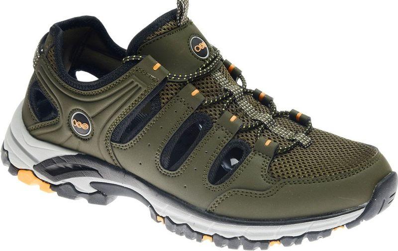 Кроссовки мужские Strobbs, цвет: хаки. C2473-19. Размер 42C2473-19Стильные мужские кроссовки Strobbs отлично подойдут для активного отдыха и повседневной носки. Верх модели выполнен из текстиля и искусственной кожи. Удобная шнуровка надежно фиксирует модель на стопе. Толстая, протекторная подошва позволяет комфортно ощущать себя на каменистой поверхности. Промежуточный слой подошвы выполнен из ЭВА-материала, что позволяет снизить вес обуви.