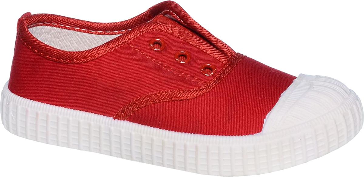 Кеды для девочки Tom&Miki, цвет: красный. B-0380. Размер 29B-0380-CКеды для девочки Tom&Miki изготовлены из качественного текстиля. Однотонная модель дополнена на мыске практичной прорезиненной накладкой. Классическая шнуровка надежно зафиксирует обувь на ноге. Мягкая подкладка выполнена из кожи и текстиля. Такие кеды - отличный вариант на каждый день.