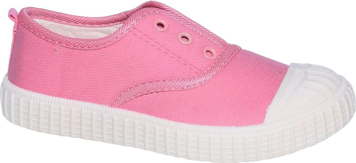 Кеды для девочки Tom&Miki, цвет: розовый. B-0380. Размер 28B-0380-EКеды для девочки Tom&Miki изготовлены из качественного текстиля. Однотонная модель дополнена на мыске практичной прорезиненной накладкой. Классическая шнуровка надежно зафиксирует обувь на ноге. Мягкая подкладка выполнена из кожи и текстиля. Такие кеды - отличный вариант на каждый день.