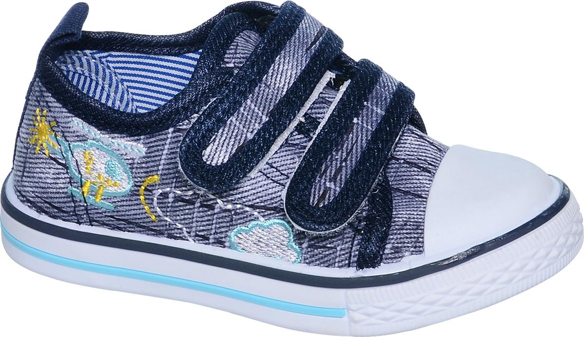 Кеды для мальчика Tom&Miki, цвет: темно-синий. B-0917. Размер 24B-0917Кеды для мальчика Tom&Miki изготовлены из качественного текстиля. Модель оформлена вышивкой и дополнена на мыске практичной прорезиненной накладкой. Липучки надежно зафиксируют обувь на ноге. Мягкая подкладка выполнена из кожи и текстиля. Такие кеды - отличный вариант на каждый день.