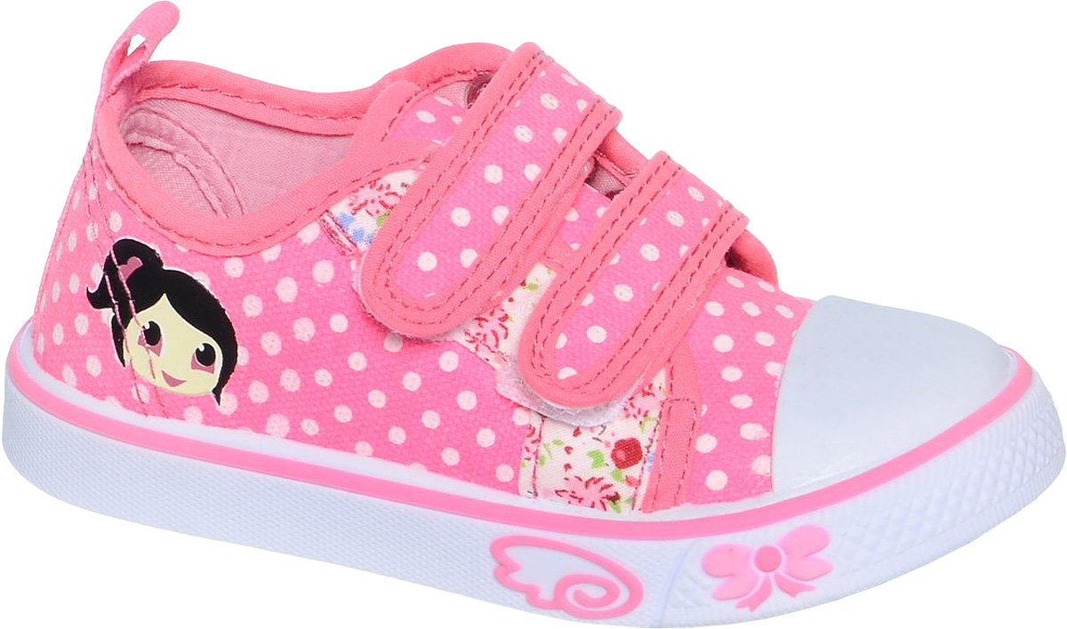 Кеды для девочки Tom&Miki, цвет: розовый. B-0920. Размер 21B-0920Кеды для девочки Tom&Miki изготовлены из качественного текстиля. Модель оформлена оригинальным принтом и дополнена на мыске практичной прорезиненной накладкой. Липучки надежно зафиксируют обувь на ноге. Мягкая подкладка выполнена из кожи и текстиля. Такие кеды - отличный вариант на каждый день.