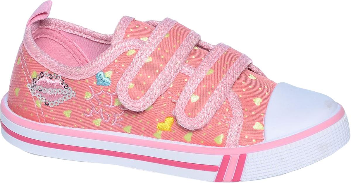 Кеды для девочки Tom&Miki, цвет: красный. B-0938. Размер 29B-0938-GКеды для девочки Tom&Miki изготовлены из качественного текстиля. Модель оформлена оригинальным принтом и дополнена на мыске практичной прорезиненной накладкой. Липучки надежно зафиксируют обувь на ноге. Мягкая подкладка выполнена из кожи и текстиля. Такие кеды - отличный вариант на каждый день.