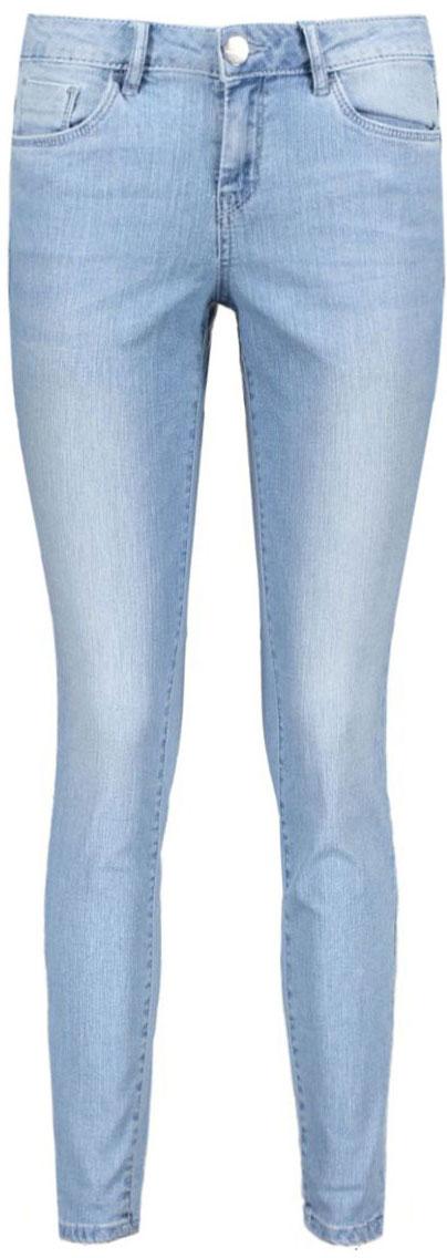 Джинсы женские Tom Tailor, цвет: голубой. 6205330.09.75_1097. Размер 28 (42/44)6205330.09.75_1097Женские джинсы Tom Tailor изготовлены из высококачественного материала. Джинсы-скинни средней посадки застегиваются на пуговицу в поясе и ширинку на застежке-молнии. На поясе предусмотрены шлевки для ремня. Спереди модель дополнена двумя втачными карманами и одним маленьким накладным кармашком, а сзади - двумя накладными карманами. Оформлена модель эффектом потертости.