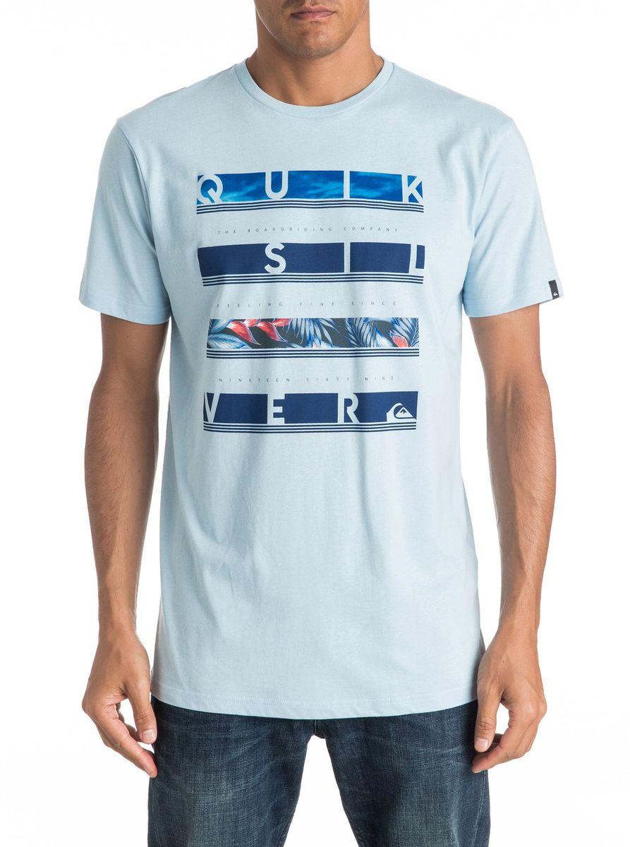 Футболка мужская Quiksilver, цвет: белый. EQYZT04280-BFG0. Размер XL (52/54)EQYZT04280-BFG0Мужская футболка Quiksilver изготовлена из качественного материала. Модель выполнена с круглой горловиной и короткими рукавами.