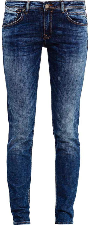Джинсы женские Finn Flare, цвет: синий. B17-15018_125. Размер 32-32 (48-32)B17-15018_125Стильные женские джинсы Finn Flare станут отличным дополнением к вашему гардеробу. Модель изготовлена из высококачественного хлопка с добавлением эластана, она великолепно пропускает воздух и обладает высокой гигроскопичностью. Застегиваются джинсы на пуговицу и ширинку на застежке-молнии. На поясе имеются шлевки для ремня. Эти модные и в тоже время удобные джинсы помогут вам создать оригинальный современный образ. В них вы всегда будете чувствовать себя уверенно и комфортно.