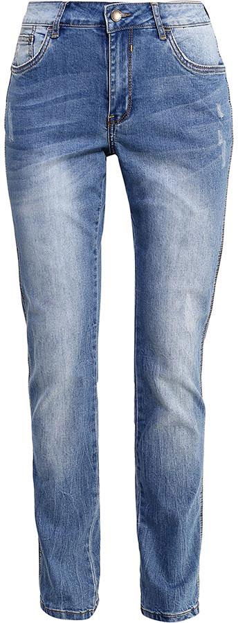 Джинсы женские Finn Flare, цвет: голубой. B17-15010_126. Размер 30-32 (46-32)B17-15010_126Стильные женские джинсы Finn Flare станут отличным дополнением к вашему гардеробу. Модель изготовлена из высококачественного хлопка с добавлением эластана, она великолепно пропускает воздух и обладает высокой гигроскопичностью. Застегиваются джинсы на пуговицу и ширинку на застежке-молнии. На поясе имеются шлевки для ремня. Эти модные и в тоже время удобные джинсы помогут вам создать оригинальный современный образ. В них вы всегда будете чувствовать себя уверенно и комфортно.