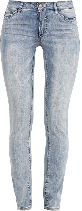 Джинсы женские Finn Flare, цвет: голубой. B17-15014_126. Размер 30-32 (46-32)B17-15014_126Стильные женские джинсы Finn Flare станут отличным дополнением к вашему гардеробу. Модель изготовлена из высококачественного хлопка с добавлением эластана, она великолепно пропускает воздух и обладает высокой гигроскопичностью. Застегиваются джинсы на пуговицу и ширинку на застежке-молнии. На поясе имеются шлевки для ремня. Эти модные и в тоже время удобные джинсы помогут вам создать оригинальный современный образ. В них вы всегда будете чувствовать себя уверенно и комфортно.