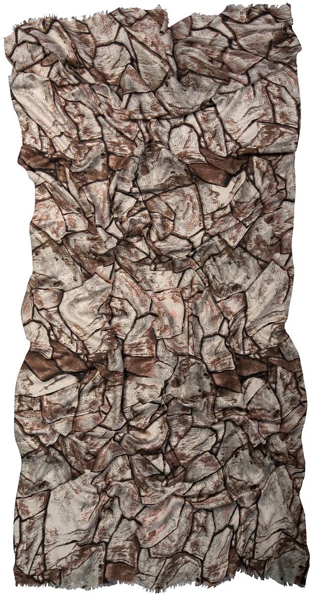 Палантин Laccom, цвет: коричневый, серый. 3215. Размер 185 см х 50 см3215OСтильный палантин Laccom изготовлен из вискозы. Модель оформлена оригинальным принтом и короткой бахромой. Изделия Laccom приятные на ощупь и подойдут к любому стилю.