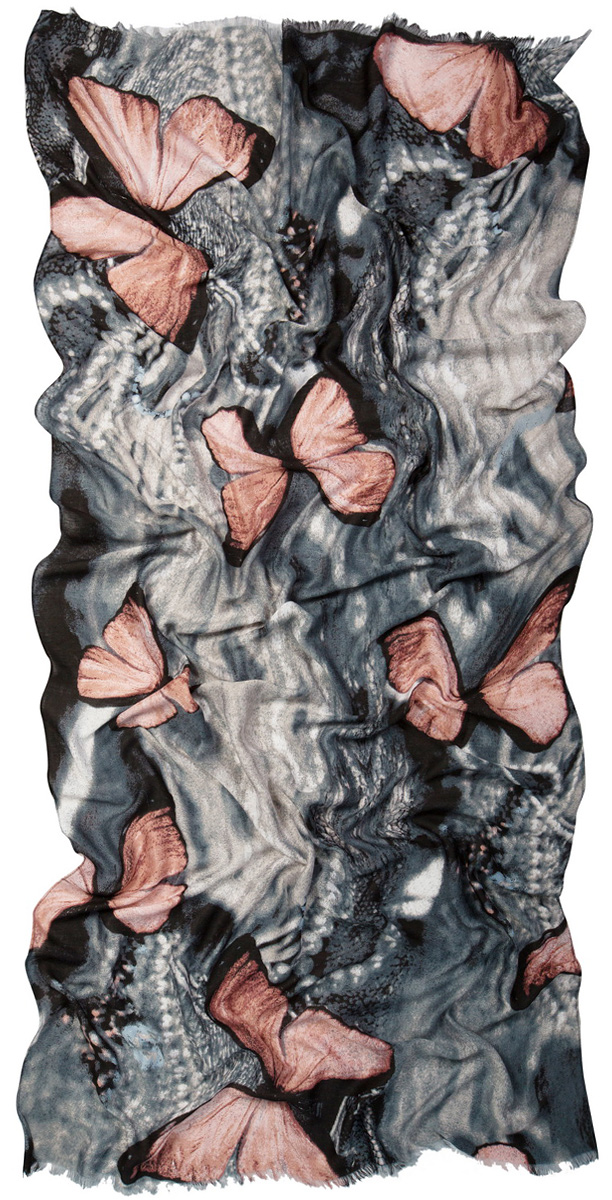 Палантин Laccom, цвет: серый, коричневый. 3222. Размер 200 см х 95 см3222IСтильный палантин Laccom изготовлен из вискозы. Модель оформлена короткой бахромой и оригинальным принтом. Изделия Laccom приятные на ощупь и подойдут к любому стилю.