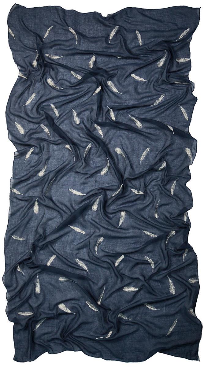 Палантин Laccom, цвет: темно-синий. 3224. Размер 200 см х 95 см3224GСтильный палантин Laccom изготовлен из вискозы и полиэстера. Изделие оформлено оригинальным принтом. Изделия Laccom приятные на ощупь и подойдут к любому стилю.