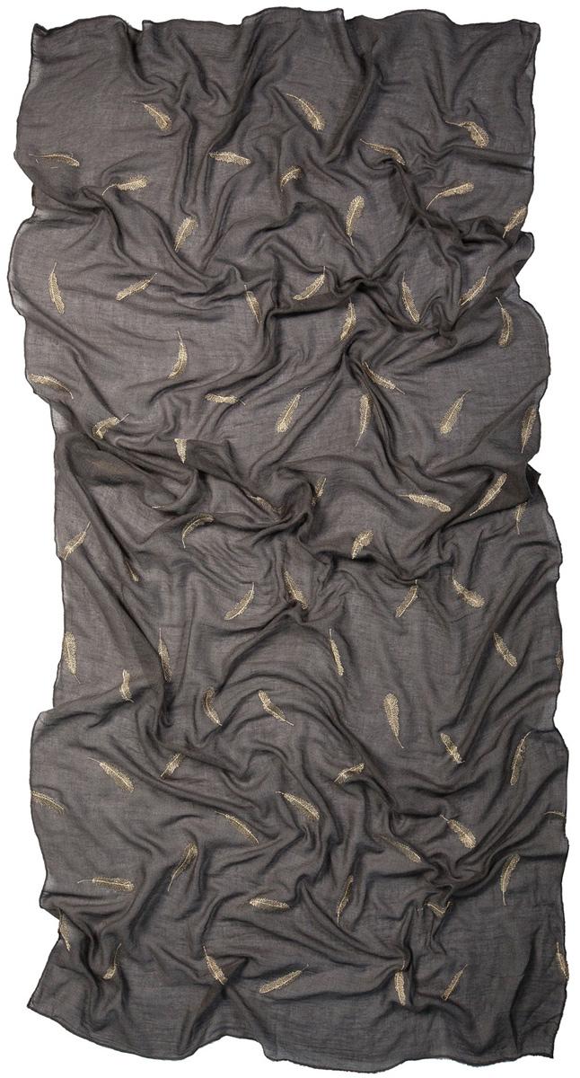Палантин Laccom, цвет: серый. 3224. Размер 200 см х 95 см3224KСтильный палантин Laccom изготовлен из вискозы и полиэстера. Изделие оформлено оригинальным принтом. Изделия Laccom приятные на ощупь и подойдут к любому стилю.