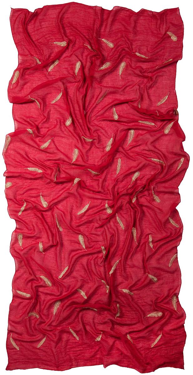 Палантин Laccom, цвет: темно-красный. 3224. Размер 200 см х 95 см3224PСтильный палантин Laccom изготовлен из вискозы и полиэстера. Изделие оформлено оригинальным принтом. Изделия Laccom приятные на ощупь и подойдут к любому стилю.