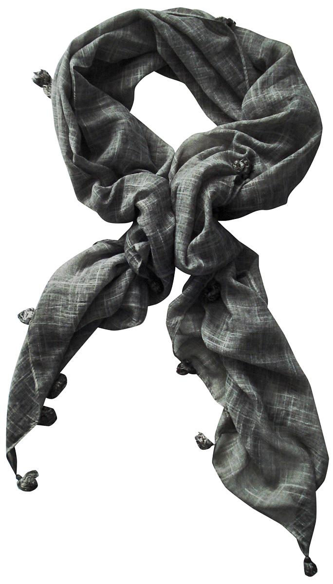 Палантин Laccom, цвет: серый. 3402. Размер 190 см х 100 см3402KСтильный палантин Laccom изготовлен из хлопка и полиэстера. Модель оформлена декоративными кисточками по краям. Изделия Laccom приятные на ощупь и подойдут к любому стилю.