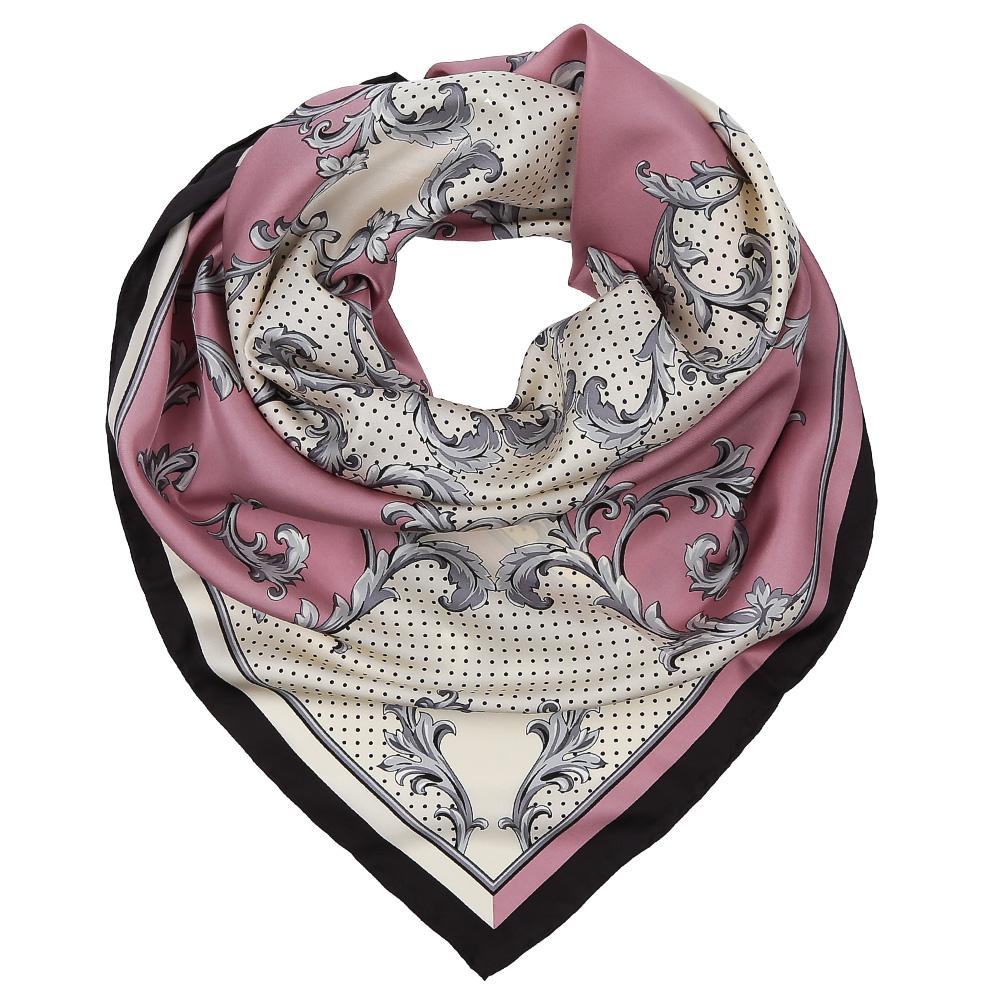Платок женский Leo Ventoni, цвет: розовый, белый. CX1617-33-4. Размер 90 см х 90 смCX1617-33-4Изысканный женский платок Leo Ventoni выполнен из натурального шелка, который придает изделию неповторимый роскошный блеск и гладкость фактуры. Тонкая и прочная нить, создающая струящуюся ткать, подчеркнет изысканный вкус своей обладательницы.