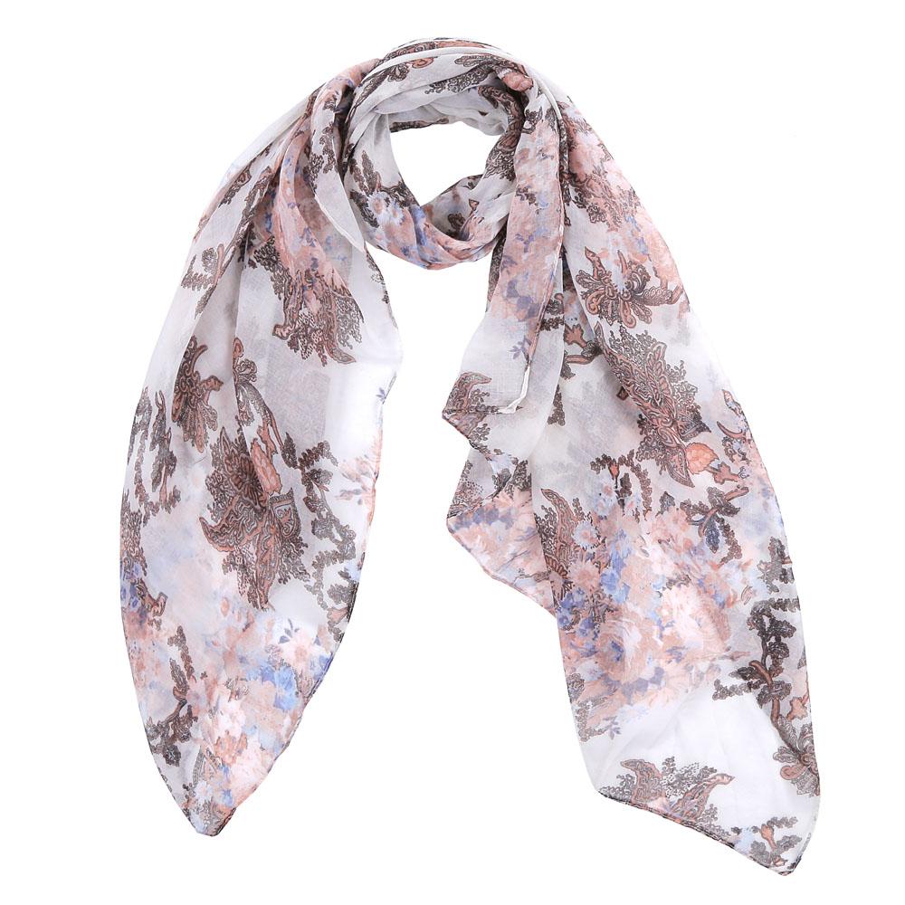 Шарф женский Fabretti, цвет: бежевый, белый. TUT008-1. Размер 180 см х 90 смTUT008-1Элегантный женский шарф от итальянского бренда Fabretti имеет неповторимую мягкость и легкость фактуры. Красочное сочетание цветов позволило дизайнерам создать изысканную модель, которая станет изюминкой любого весеннего образа.