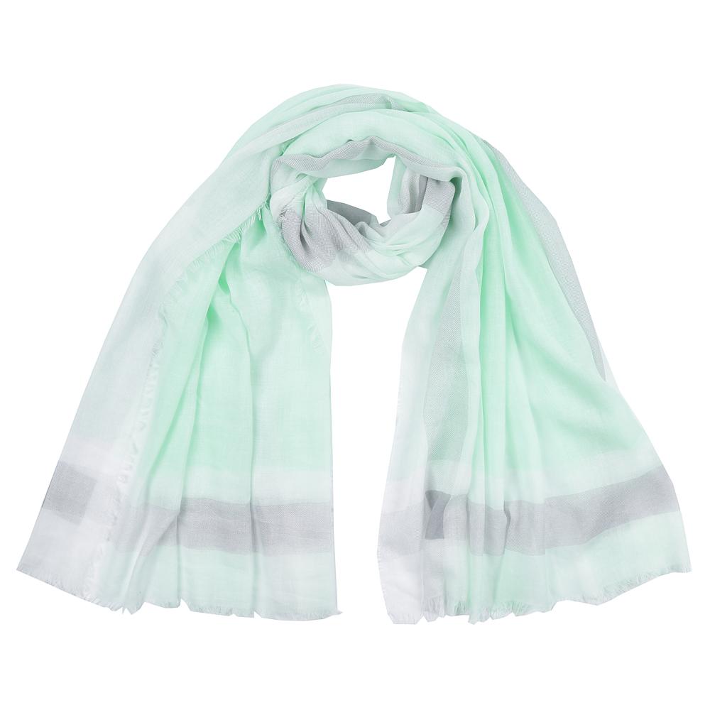Шарф женский Fabretti, цвет: зеленый. SR16112-3. Размер 180 см х 90 смSR16112-3Элегантный женский шарф от итальянского бренда Fabretti имеет неповторимую мягкость и легкость фактуры. Красочное сочетание цветов позволило дизайнерам создать изысканную модель, которая станет изюминкой любого весеннего образа.