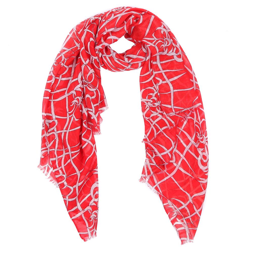 Шарф женский Fabretti, цвет: красный. HV0301-7. Размер 180 см х 90 смHV0301-7Элегантный женский шарф от итальянского бренда Fabretti имеет неповторимую мягкость и легкость фактуры. Красочное сочетание цветов позволило дизайнерам создать изысканную модель, которая станет изюминкой любого весеннего образа.