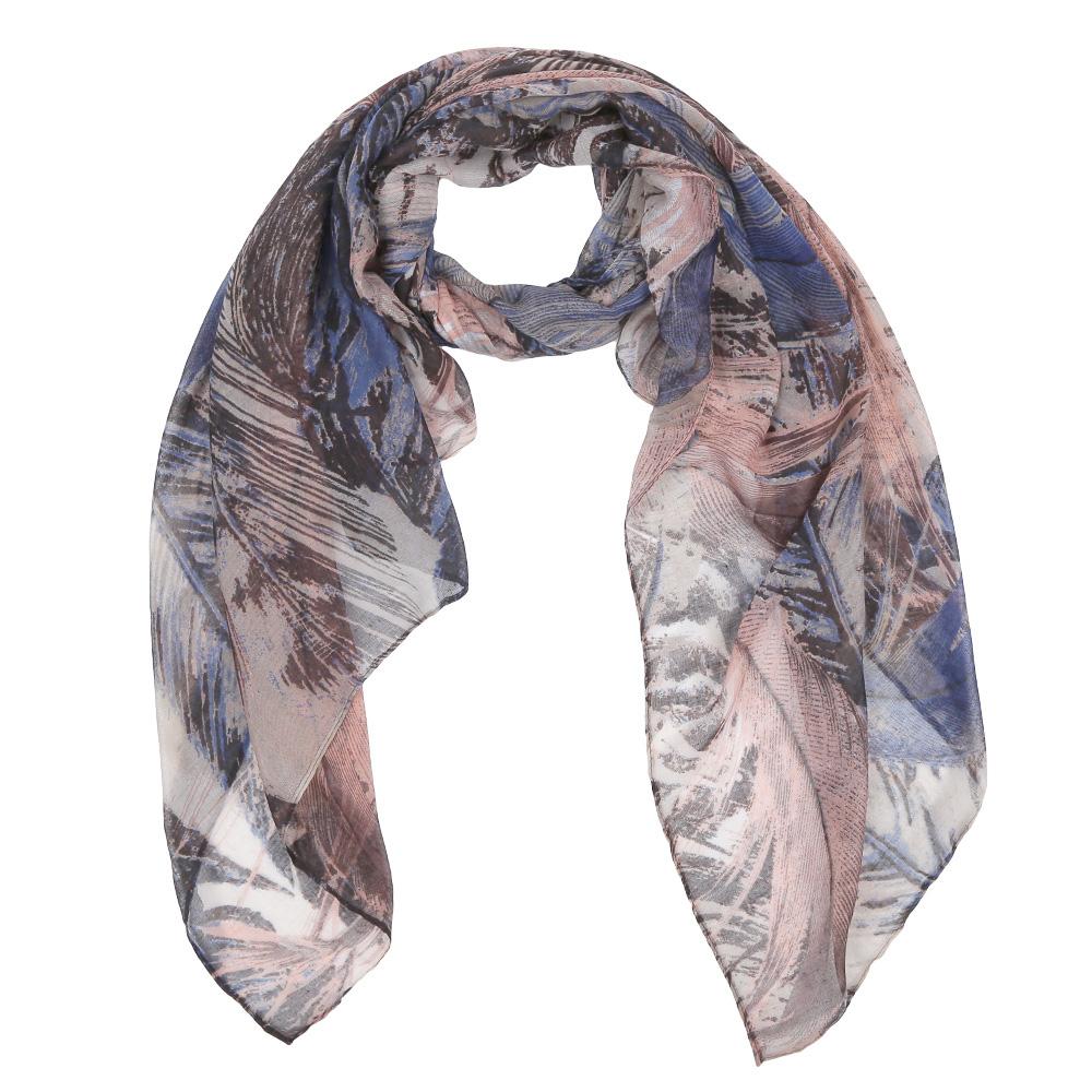 Шарф женский Fabretti, цвет: коричневый, синий. Leo137-6. Размер 180 см х 90 смLeo137-6Элегантный женский шарф от итальянского бренда Fabretti имеет неповторимую мягкость и легкость фактуры. Красочное сочетание цветов позволило дизайнерам создать изысканную модель, которая станет изюминкой любого весеннего образа.