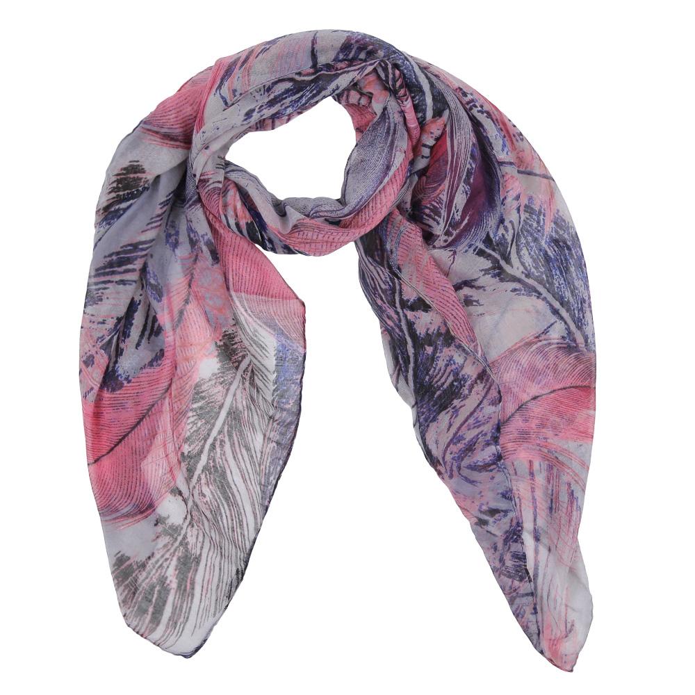 Шарф женский Fabretti, цвет: розовый, серый. Leo137-7. Размер 180 см х 90 смLeo137-7Элегантный женский шарф от итальянского бренда Fabretti имеет неповторимую мягкость и легкость фактуры. Красочное сочетание цветов позволило дизайнерам создать изысканную модель, которая станет изюминкой любого весеннего образа.