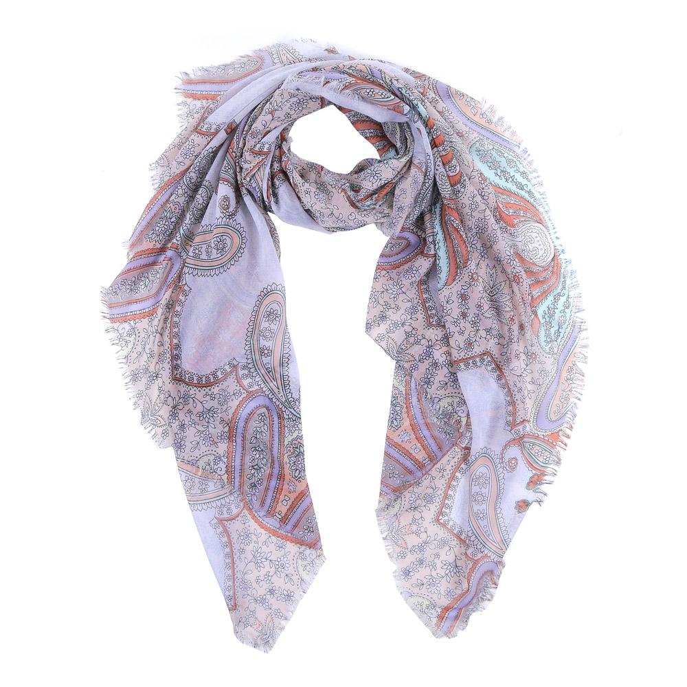 Шарф женский Fabretti, цвет: розовый, голубой. LR2016-88-1. Размер 190 см х 100 смLR2016-88-1Элегантный женский шарф от итальянского бренда Fabretti имеет неповторимую мягкость и легкость фактуры. Красочное сочетание цветов позволило дизайнерам создать изысканную модель, которая станет изюминкой любого весеннего образа.