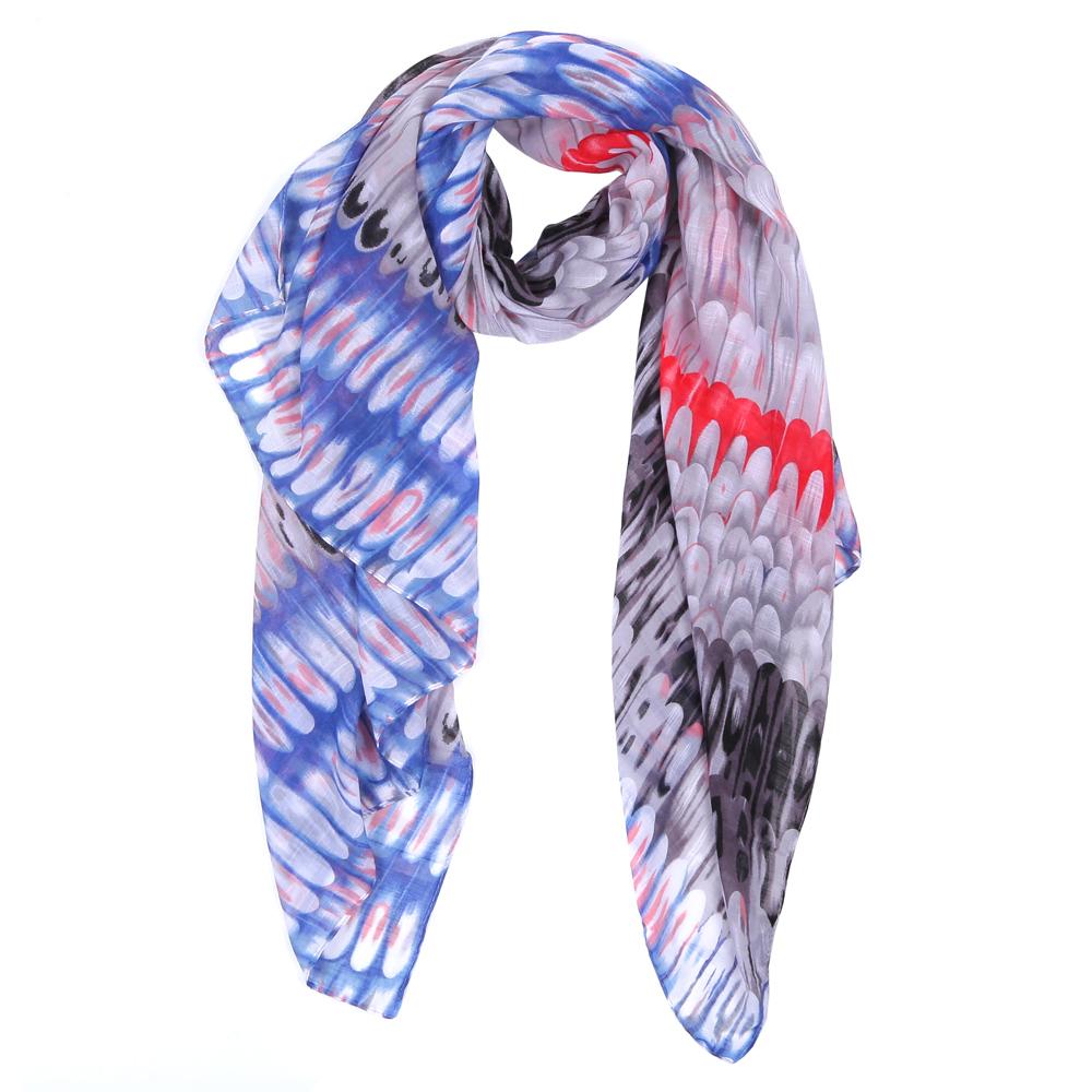 Шарф женский Fabretti, цвет: синий, серый. WJ9363-2. Размер 180 см х 90 смWJ9363-2Элегантный женский шарф от итальянского бренда Fabretti имеет неповторимую мягкость и легкость фактуры. Красочное сочетание цветов позволило дизайнерам создать изысканную модель, которая станет изюминкой любого весеннего образа.