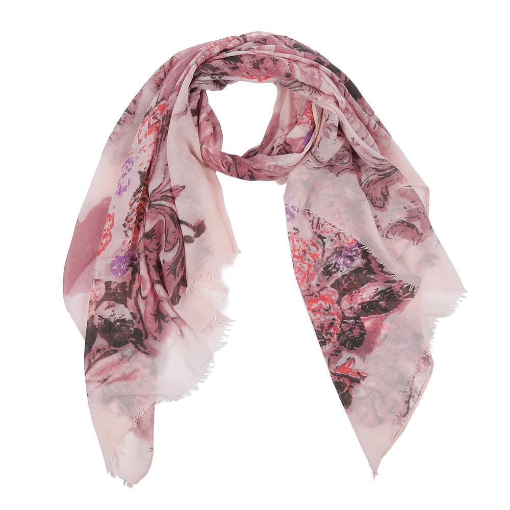 Шарф женский Fabretti, цвет: белый, розовый. Leo342-A. Размер 180 см х 90 смLeo342-AЭлегантный женский шарф от итальянского бренда Fabretti имеет неповторимую мягкость и легкость фактуры. Красочное сочетание цветов позволило дизайнерам создать изысканную модель, которая станет изюминкой любого весеннего образа.
