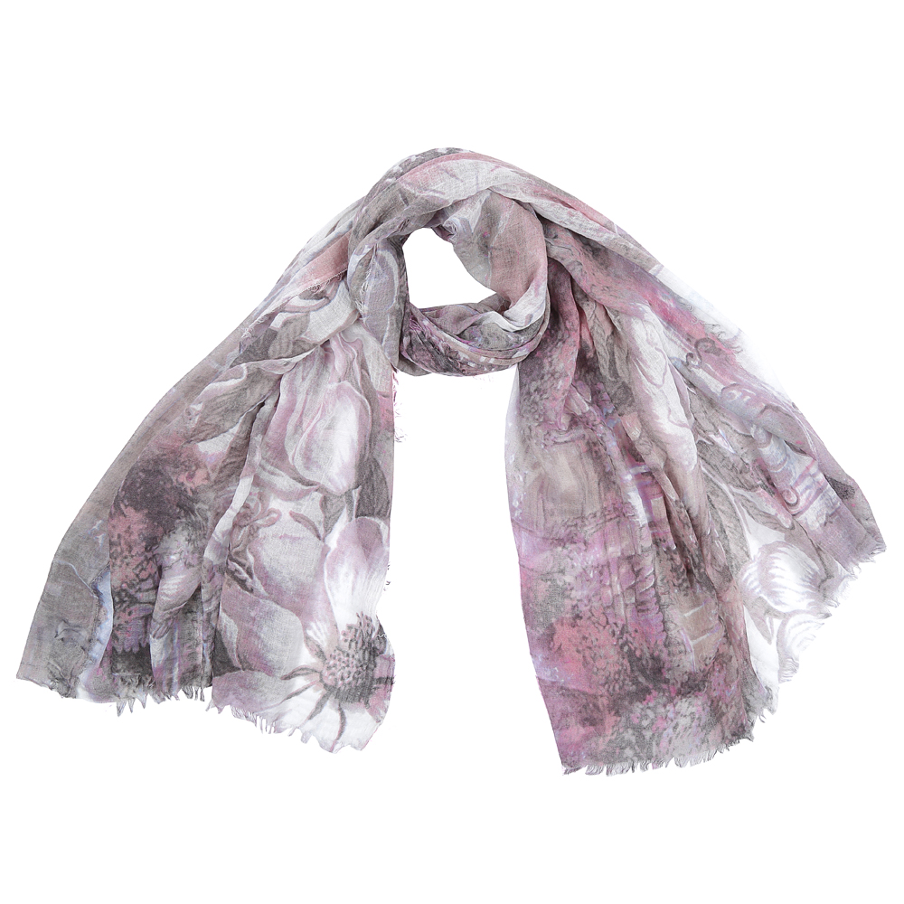 Шарф женский Fabretti, цвет: серый. SR16115-6. Размер 180 см х 90 смSR16115-6Элегантный женский шарф от итальянского бренда Fabretti имеет неповторимую мягкость и легкость фактуры. Красочное сочетание цветов позволило дизайнерам создать изысканную модель, которая станет изюминкой любого весеннего образа.