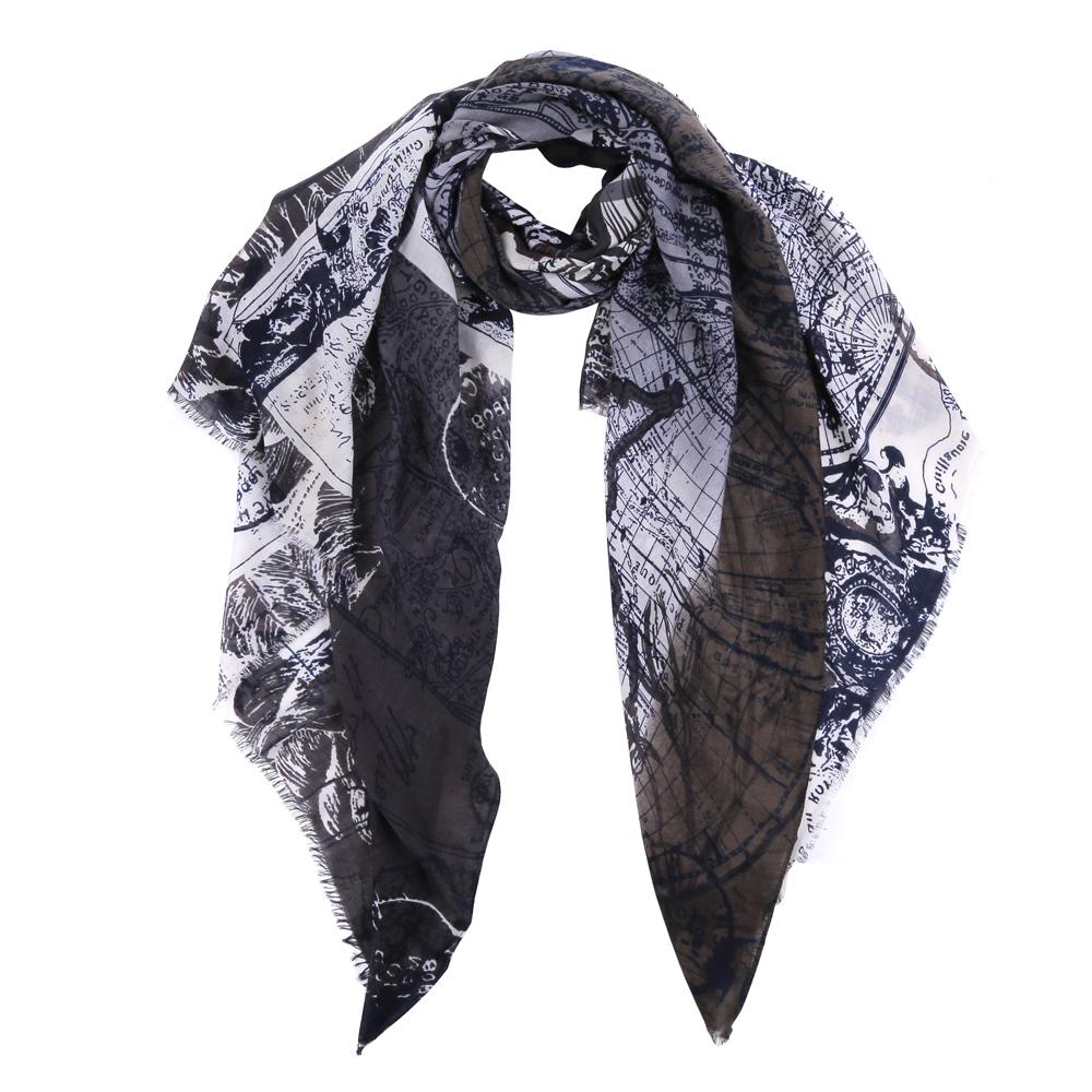 Шарф женский Fabretti, цвет: серый, белый. TUT482-4. Размер 180 см х 90 смTUT482-4Элегантный женский шарф от итальянского бренда Fabretti имеет неповторимую мягкость и легкость фактуры. Красочное сочетание цветов позволило дизайнерам создать изысканную модель, которая станет изюминкой любого весеннего образа.