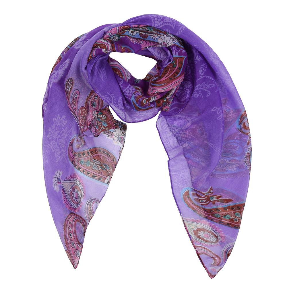 Шарф женский Fabretti, цвет: фиолетовый, коричневый. Leo037-C. Размер 180 см х 90 смLeo037-CЭлегантный женский шарф от итальянского бренда Fabretti имеет неповторимую мягкость и легкость фактуры. Красочное сочетание цветов позволило дизайнерам создать изысканную модель, которая станет изюминкой любого весеннего образа.