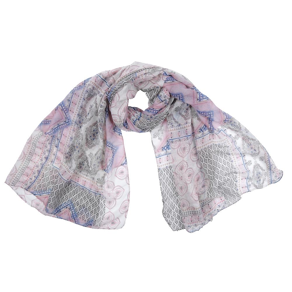 Шарф женский Fabretti, цвет: розовый, серый. XHL1-3. Размер 180 см х 90 смXHL1-3Элегантный женский шарф от итальянского бренда Fabretti имеет неповторимую мягкость и легкость фактуры. Красочное сочетание цветов позволило дизайнерам создать изысканную модель, которая станет изюминкой любого весеннего образа.