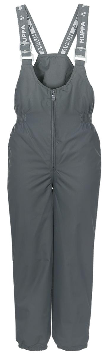 Брюки утепленные детские Huppa Neo, цвет: серый. 26460004-00048. Размер 9226460004-00048Утепленные детские брюки Huppa Neo с завышенной грудкой выполнены из износостойкого полиэстера. В качестве подкладки и утеплителя используется качественный полиэстер.Брюки застегиваются на высокую пластиковую молнию, на талии имеется вшитая эластичная резинка. Брюки оснащены несъемными резиновыми подтяжками, длину которых можно регулировать. По низу брючин предусмотрены вшитые резинки и специальные держатели из мягкого пластика, которые можно отстегивать. Изделие дополнено светоотражающими элементами.