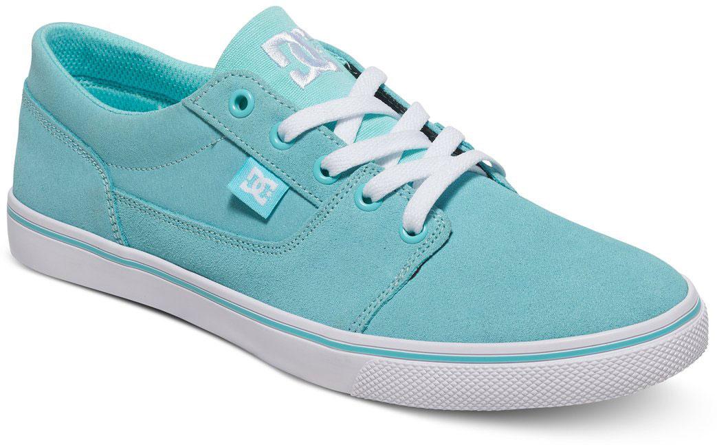 Кеды женские DC Shoes Tonik W, цвет: голубой. ADJS300075-AQA. Размер 9,5B (41)ADJS300075-AQAСтильные женские кеды DC Shoes Tonik W - отличный вариант на каждый день.Модель выполнена из натуральной кожи. Шнуровка надежно фиксирует обувь на ноге. Резиновая подошва с протектором гарантирует отличное сцепление с поверхностью. В таких кедах вашим ногам будет комфортно и уютно.
