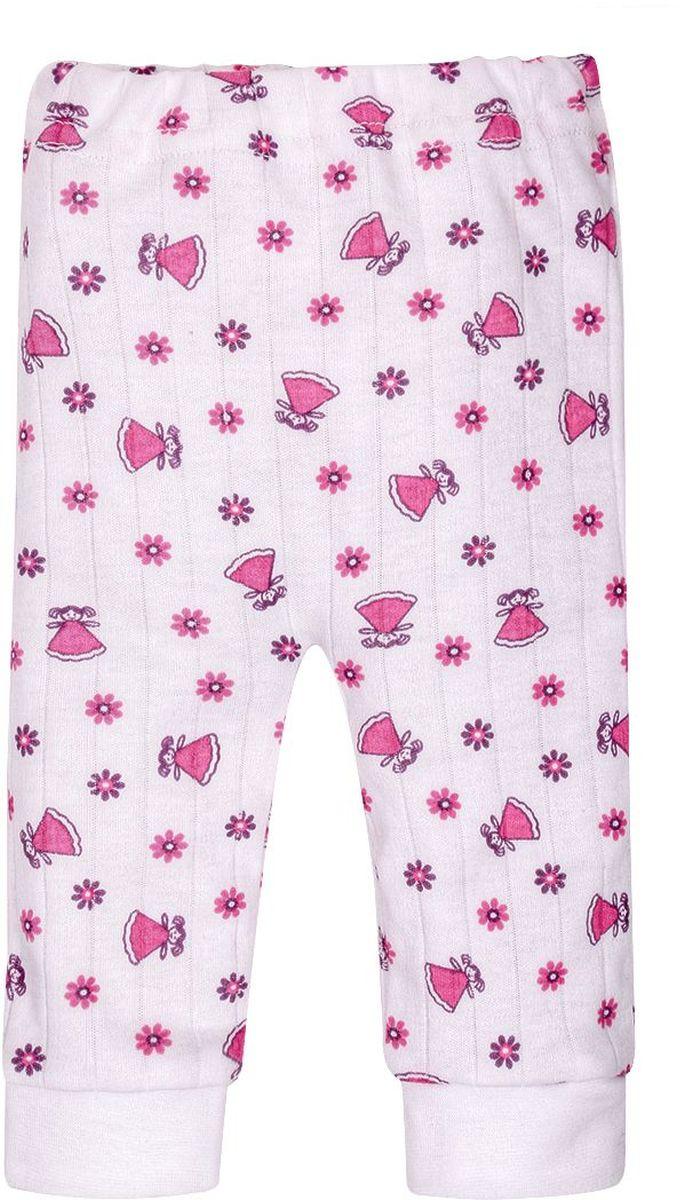Ползунки для девочки M&D, цвет: белый, розовый. ПЗ170602. Размер 62ПЗ170602Ползунки M&D выполнены из натурального хлопка и оформлены милым необычным принтом.Они мягкие и приятные на ощупь, не раздражают нежную и чувствительную кожу ребенка, хорошо пропускают воздух.. Изделие имеют мягкую резинку, надежно фиксирующую ползунки и не сдавливающую животик ребенка. На штанинах присутствуют широкие мягкие текстильные резинки.