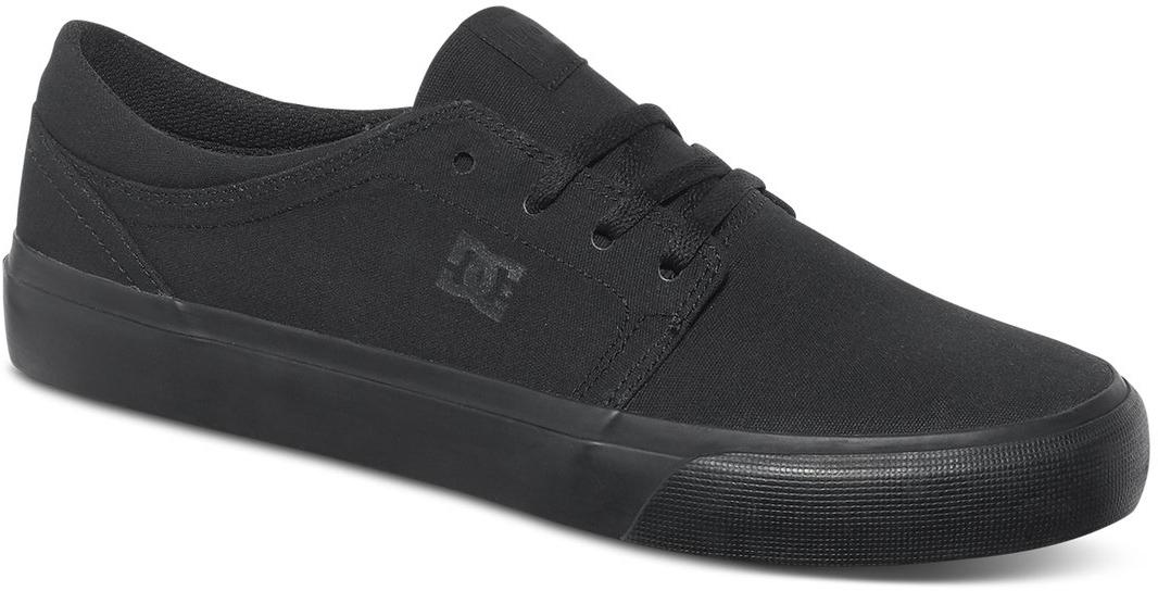 Кеды мужские DC Shoes Trase TX, цвет: черный. ADYS300126-3BK. Размер 10D (43)ADYS300126-3BKСтильные мужские кеды DC Shoes Trase TX - отличный вариант на каждый день.Модель выполнена из текстиля. Шнуровка надежно фиксирует обувь на ноге. Резиновая подошва с протектором гарантирует отличное сцепление с поверхностью. В таких кедах вашим ногам будет комфортно и уютно.
