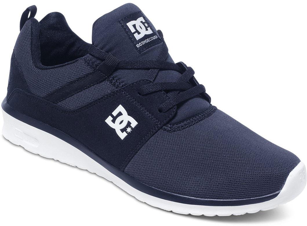 Кроссовки мужские DC Shoes Heathrow M, цвет: темно-синий. ADYS700071-NVY. Размер 11D (44)ADYS700071-NVYСтильные мужские кроссовки DC Shoes Heathrow M - отличный вариант на каждый день.Модель выполнена из текстиля. Шнуровка надежно фиксирует обувь на ноге. Резиновая подошва с протектором гарантирует отличное сцепление с поверхностью. В таких кроссовках вашим ногам будет комфортно и уютно.