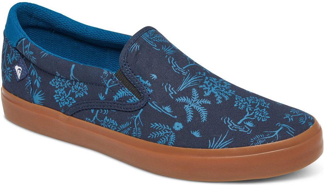 Слипоны мужские Quiksilver Shorebreak Slip, цвет: синий. AQYS300033-XBBW. Размер 11 (44)AQYS300033-XBBWСтильные мужские слипоны Quiksilver, выполнены из текстиля. Эластичные вставки по бокам обеспечивают идеальную посадку модели на ноге. Подкладка и стелька из текстиля придадут дополнительный комфорт при движении. Данная модель прекрасно сможет подчеркнуть ваш индивидуальный стиль.