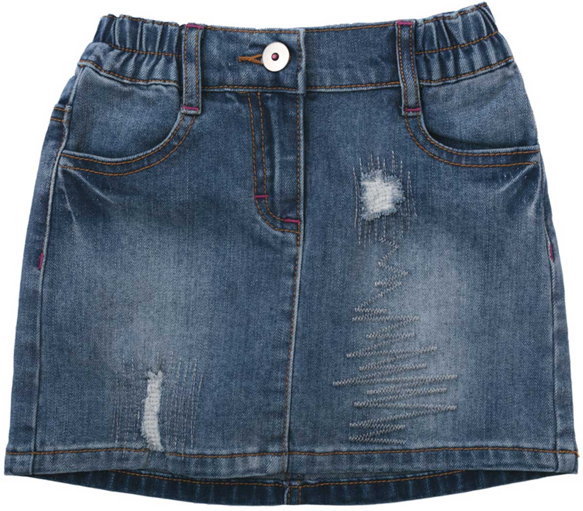 Юбка для девочки PlayToday, цвет: синий. 172062. Размер 110172062Яркая стильная юбка PlayToday станет хорошим дополнением детского гардероба. Юбка на резинке, мягкая ткань не сковывает движений ребенка. Материал приятен к телу и не вызывает раздражений.