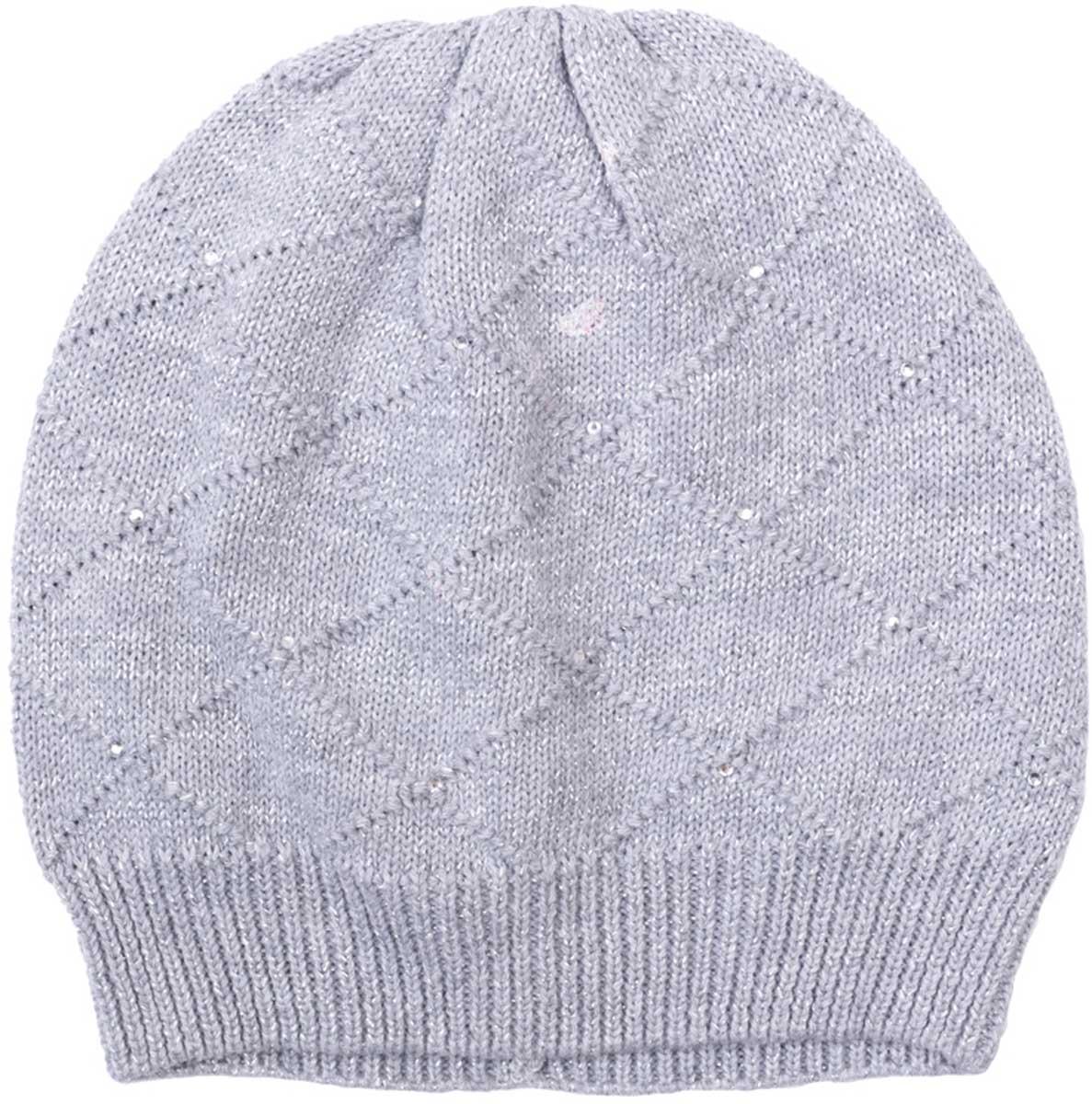 Шапка для девочки PlayToday, цвет: серый. 172081. Размер 50172081Шапка PlayToday выполненаиз хлопка, нейлона и эласиана подойдет вашему ребенку для прогулок в прохладную погоду. Шапка без завязок, плотно прилегает к голове, комфортна при носке.Уважаемые клиенты!Размер, доступный для заказа, является обхватом головы.
