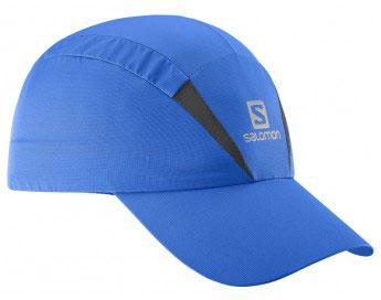 Кепка для бега Salomon Xa Cap, цвет: голубой. L39303600. Размер L/XL (59)L39303600Новый лаконичный силуэт, низкий вес и хорошая вентиляция: кепка XA Cap быстро сохнет, сохраняя чувство свежести и комфорта при беге. Дополнительная вентиляция в верхней части для самой жаркой погоды.