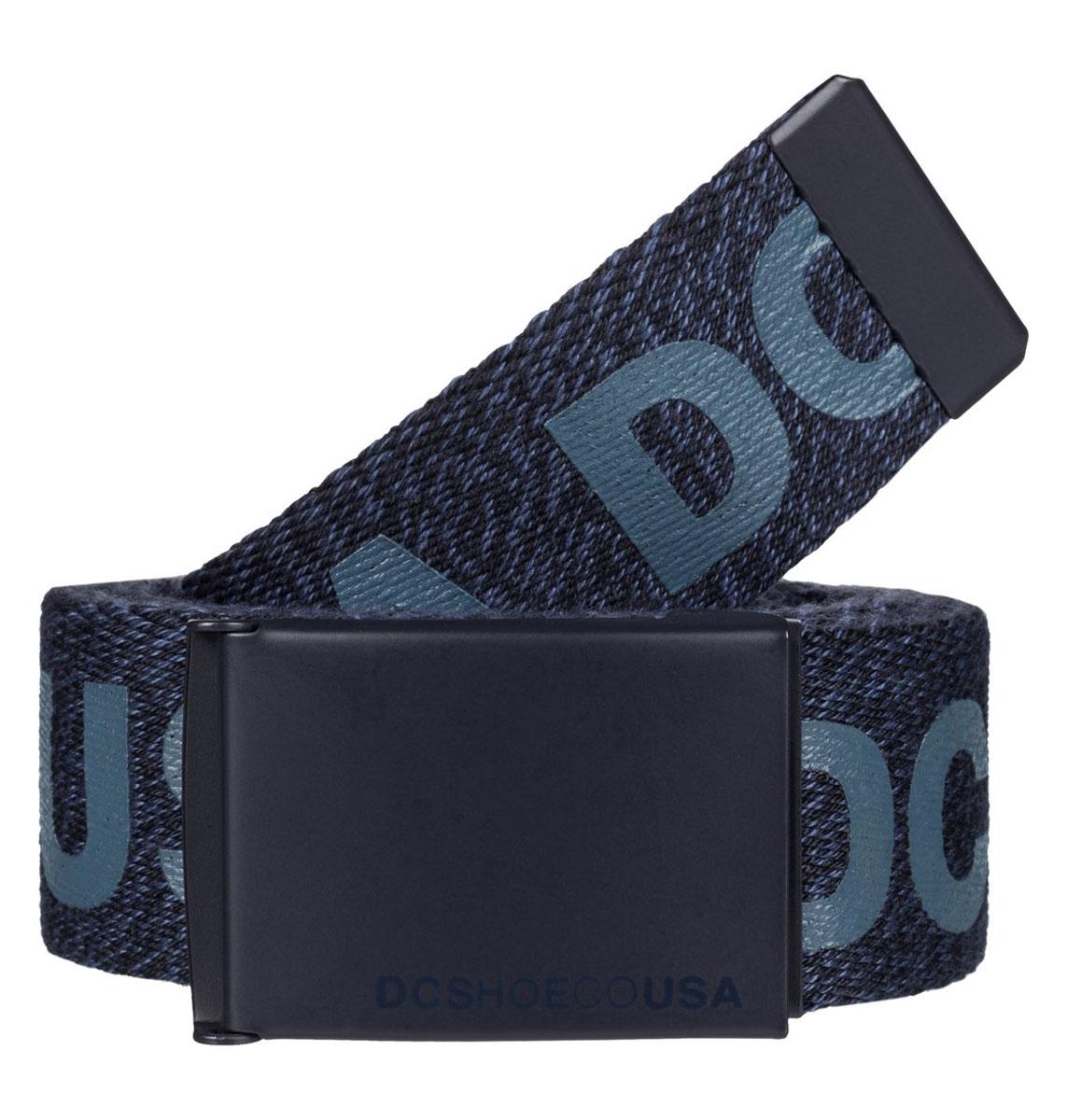 Ремень мужской DC Shoes Chinook TX, цвет: синий. EDYAA03020-BYJ0. Размер универсальныйEDYAA03020-BYJ0Мужской ремень DC Shoes выполнен из текстиля. У модели контрастная пряжка.