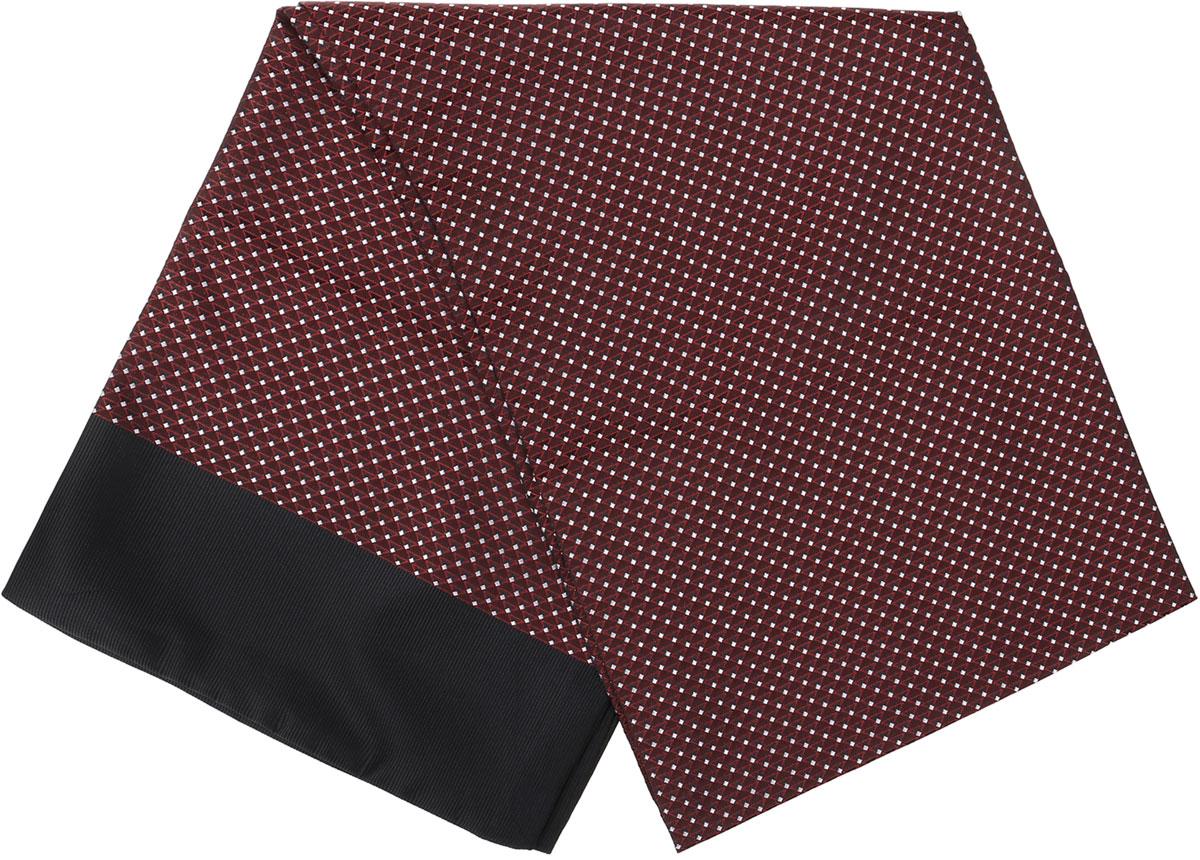 Шарф Vittorio Richi, цвет: коричневый, черный, белый. Ro02G138-2967-13. Размер 28 см х 138 смRo02G138-2967-13Стильный шарф Vittorio Richi изготовлен из полиэстера и шелка. Двусторонний текстильный шарф оформлен мелким рисунком. Края выполнены из однотонной ткани.