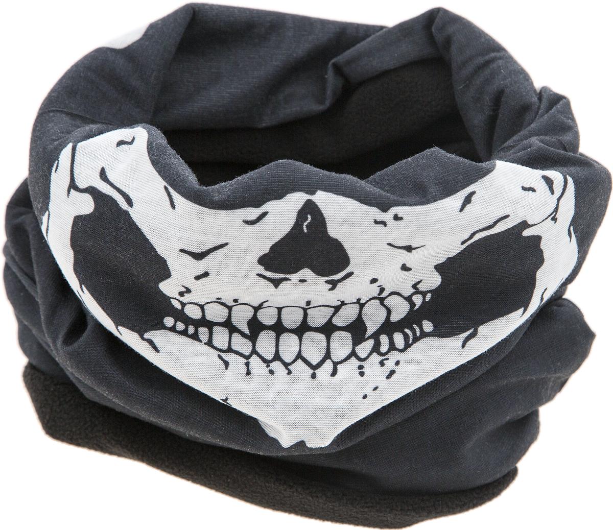 Шарф зимний YusliQ, цвет: черный, белый. WL-03. Размер 50 см х 35 смWL - 03Мультишарфы можно встретить под разными названиями: мультишарф, мультибандана, платок трансформер, Baff, но вне зависимости от того, как Вы назовете этот аксессуар, его уникальные возможности останутся неизменными. Вы с легкостью и удобством можете одеть этот мультишарф на голову и шею 12 различными способами. В сильные морозы, пронизывающий ветер или пыльную бурю - с мультишарфом Вы будете готовы к любым капризам природы.Авторская работа.