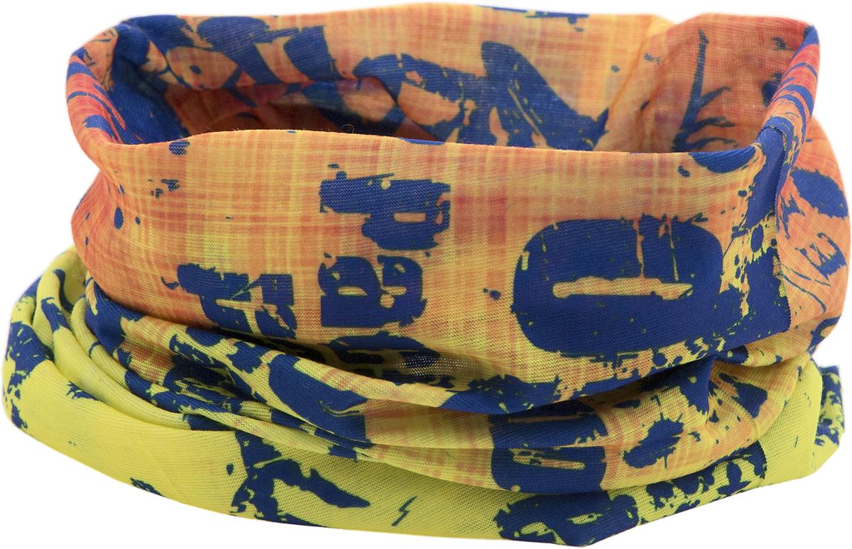 Шарф YusliQ, цвет: желтый, красный, синий. 15-21. Размер 46 см х 24 см15-21Мультишарфы можно встретить под разными названиями: мультишарф, мультибандана, платок трансформер, Baff, но вне зависимости от того, как Вы назовете этот аксессуар, его уникальные возможности останутся неизменными. Вы с легкостью и удобством можете одеть этот мультишарф на голову и шею 12 различными способами. В сильные морозы, пронизывающий ветер или пыльную бурю - с мультишарфом Вы будете готовы к любым капризам природы.Авторская работа.