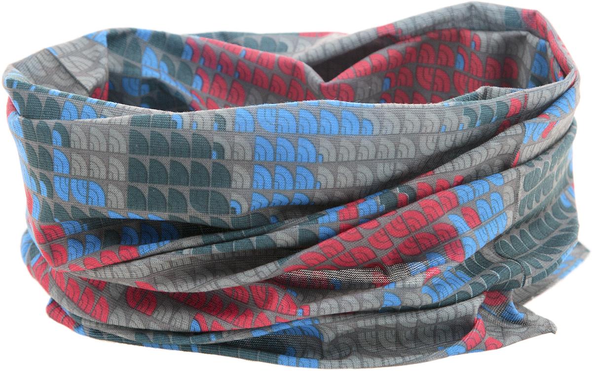 Шарф YusliQ, цвет: серый, голубой, красный. 15-30. Размер 46 см х 24 см15-30Мультишарфы можно встретить под разными названиями: мультишарф, мультибандана, платок трансформер, Baff, но вне зависимости от того, как Вы назовете этот аксессуар, его уникальные возможности останутся неизменными. Вы с легкостью и удобством можете одеть этот мультишарф на голову и шею 12 различными способами. В сильные морозы, пронизывающий ветер или пыльную бурю - с мультишарфом Вы будете готовы к любым капризам природы.Авторская работа.