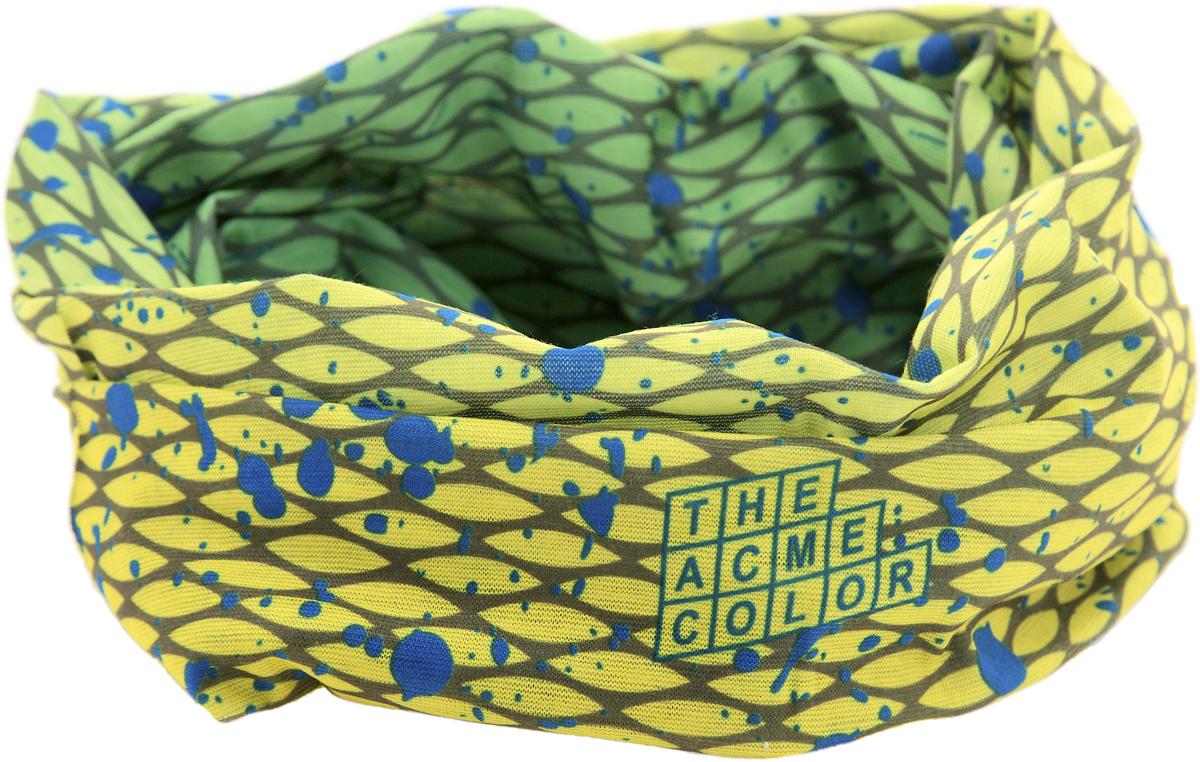 Шарф YusliQ, цвет: желтый, зеленый, синий. 17-13.1. Размер 46 см х 24 см17-13.1Мультишарфы можно встретить под разными названиями: мультишарф, мультибандана, платок трансформер, Baff, но вне зависимости от того, как Вы назовете этот аксессуар, его уникальные возможности останутся неизменными. Вы с легкостью и удобством можете одеть этот мультишарф на голову и шею 12 различными способами. В сильные морозы, пронизывающий ветер или пыльную бурю - с мультишарфом Вы будете готовы к любым капризам природы.Авторская работа.