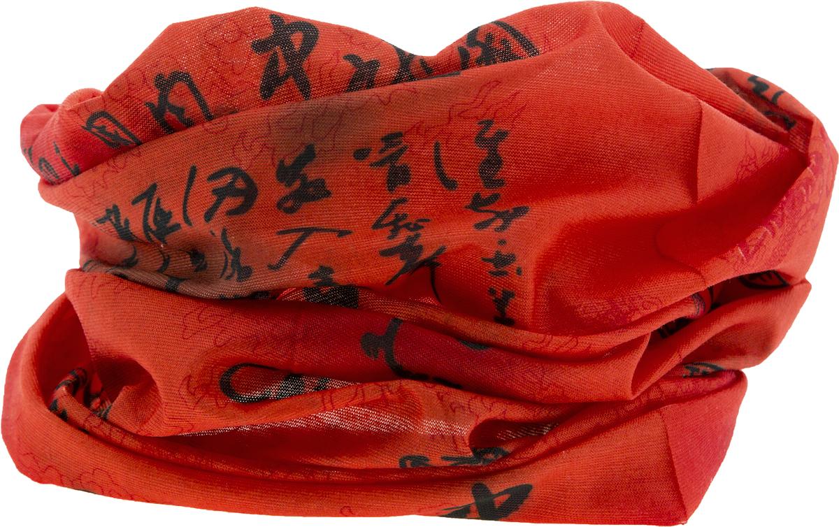 Шарф YusliQ, цвет: красный, черный. 15-11. Размер 46 см х 24 см15-11Мультишарфы можно встретить под разными названиями: мультишарф, мультибандана, платок трансформер, Baff, но вне зависимости от того, как Вы назовете этот аксессуар, его уникальные возможности останутся неизменными. Вы с легкостью и удобством можете одеть этот мультишарф на голову и шею 12 различными способами. В сильные морозы, пронизывающий ветер или пыльную бурю - с мультишарфом Вы будете готовы к любым капризам природы.Авторская работа.