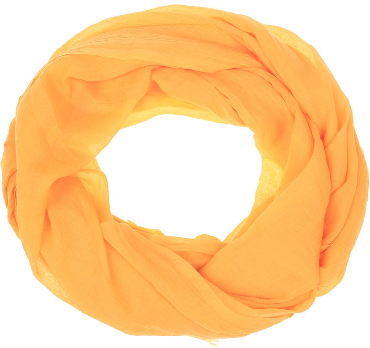 Палантин Vita Pelle, цвет: желтый. Ro02PC3668/20. Размер 90 см х 180 смRo02PC3668/20Однотонный палантин от Vita Pelle изготовлен из вискозы и полиэстера. Кромка модели оформлена осыпкой.