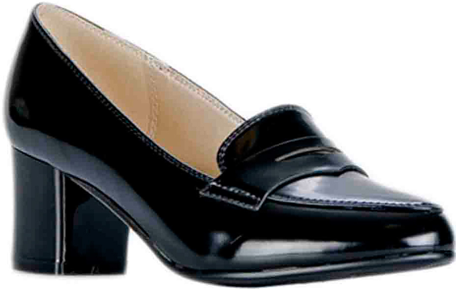 Туфли женские Vitacci, цвет: черный. 83435. Размер 3683435Удобные женские туфли Vitacci - отличный вариант на каждый день. Верх модели изготовлен из качественной искусственной кожи и оформлен язычком. Стелька из натуральной кожи гарантирует комфорт и удобство при ходьбе. Подошва с широким каблуком обеспечивает идеальное сцепление с разными поверхностями.